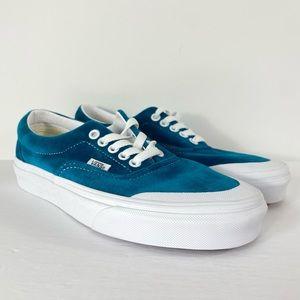 Vans Era Toe Cap Velvet Blue Sneakers
